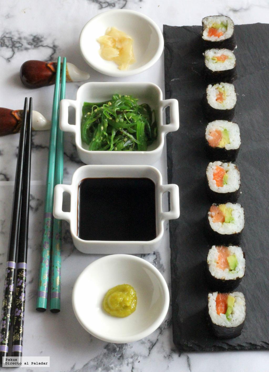 Receta de sushi f cil - Cocinar sushi facil ...