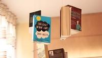 ¿Buena o mala idea? Decorar con libros flotantes