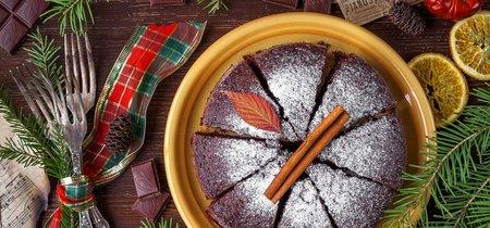 ¿Con cuánto tiempo de anticipación puedo hornear el pastel para la cena de Navidad?