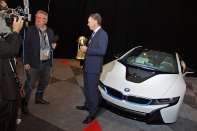 El BMW i8 sucede al BMW i3 como World Green Car 2015