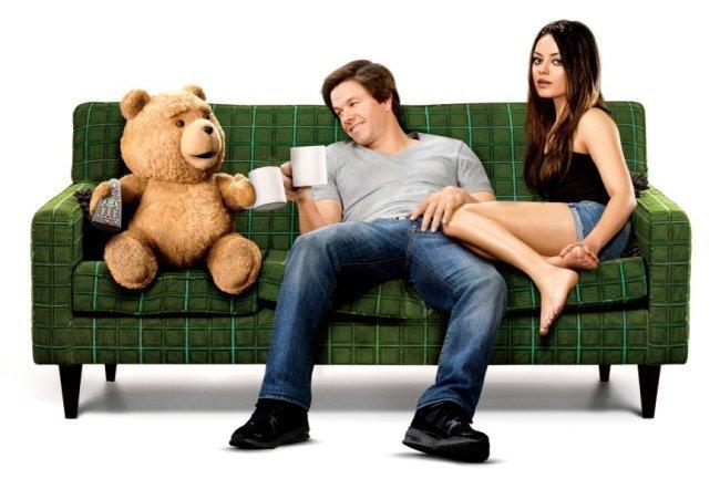Una imagen del póster de Ted