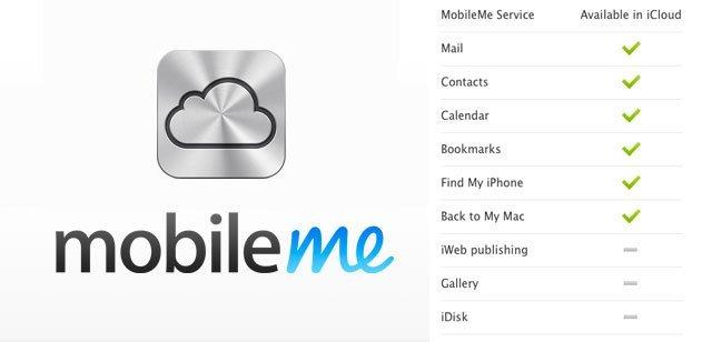 iCloud MobileMe FAQ