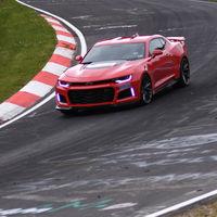 El Chevrolet Camaro ZL1 2017 se coloca entre los grandes del Nürburgring
