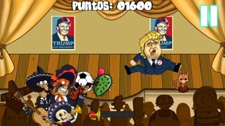 Estudio mexicano crea juego parodia para lanzarle objetos Donald Trump
