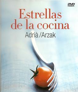 Biografía de Arzak y Adrià en dvd con la revista Interiores