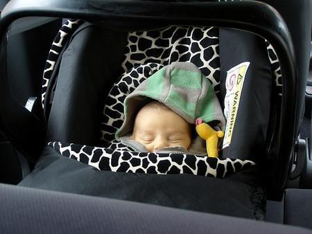 Las sillitas para el coche pueden afectar a la oxigenación de los niños