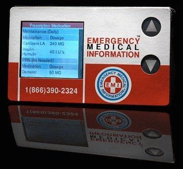EMI 911 rCard, tu historial médico siempre a cuestas