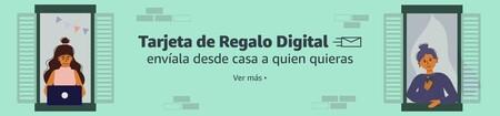 Tarjeta de regalo digital de Amazon en México para regalar en Navidad