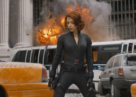 Scarlett Johansson en Los Vengadores