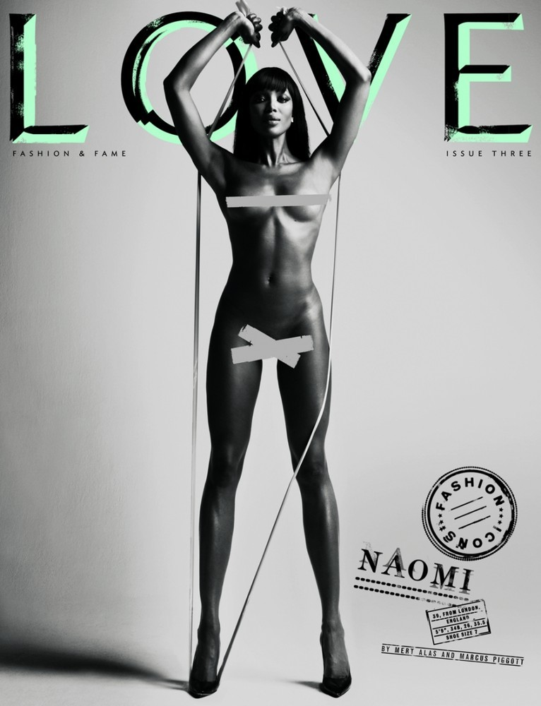 Foto de Top models desnudas en Love (7/8)
