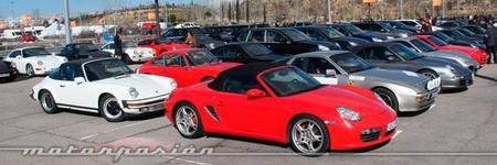 470 Porsche reunidos en Madrid: el olimpo de los 911