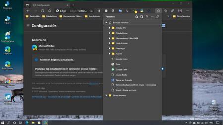 El acceso a la Colecciones tendrá en Edge una nueva interfaz flotante que Microsoft ya está probando