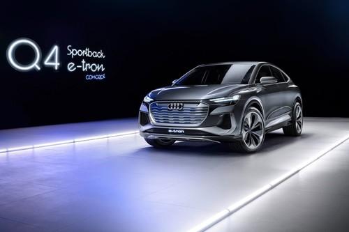 Audi Q4 Sportback e-tron Concept: la cara eléctrica de los SUV compcactos de Audi se hará realidad en 2021