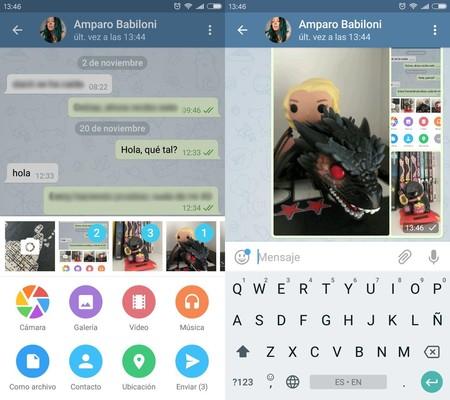 Enviar Fotos Telegram