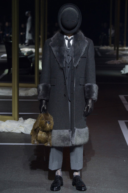 Thom Browne Fall Winter 2016 Paris Fashion Week 4