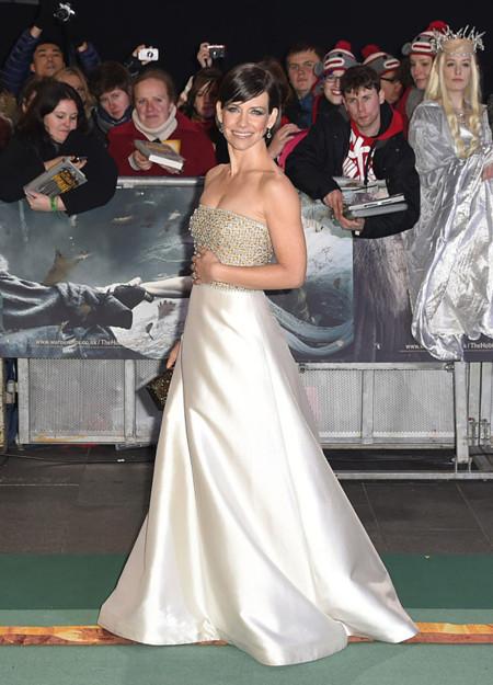 Evangeline Lilly Reem Acra Hobbit