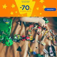 Flash Sale en Toys 'r us con descuentos de hasta el 70% en juguetes Nerf, Playmobil o Hasbro