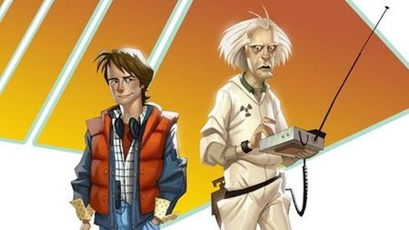 'Back to the Future', el videojuego. Se presenta a Marty McFly