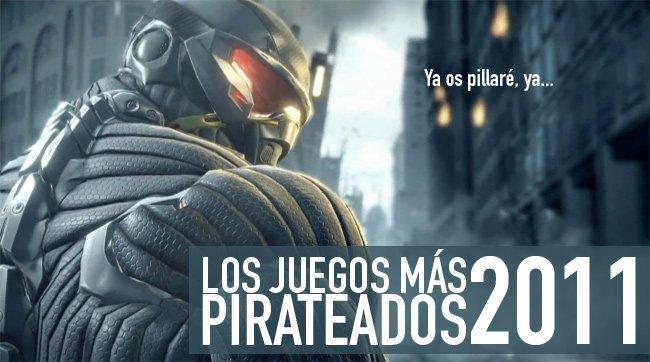 Los juegos más pirateados de 2011