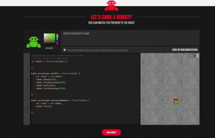 Aprender Javascript programando un robot