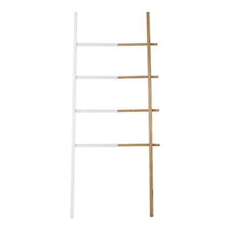 Estanteria En EscaleraEstantería escalera de madera y metal extensible Hub