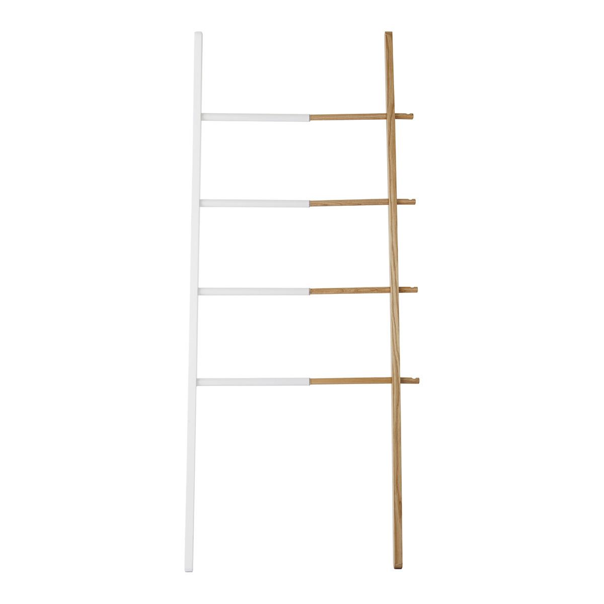 Estantería escalera de madera y metal extensible Hub