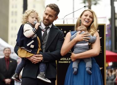 Ya conocemos el nombre de la hija de Blake Lively y Ryan Reynolds... y no nos puede gustar más