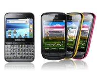 Samsung Galaxy Pro y Samsung Corby II, que llegarán en primavera, muestran sus características oficiales