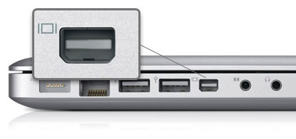Apple se sale con la suya y el Mini DisplayPort es aceptado como un estándar