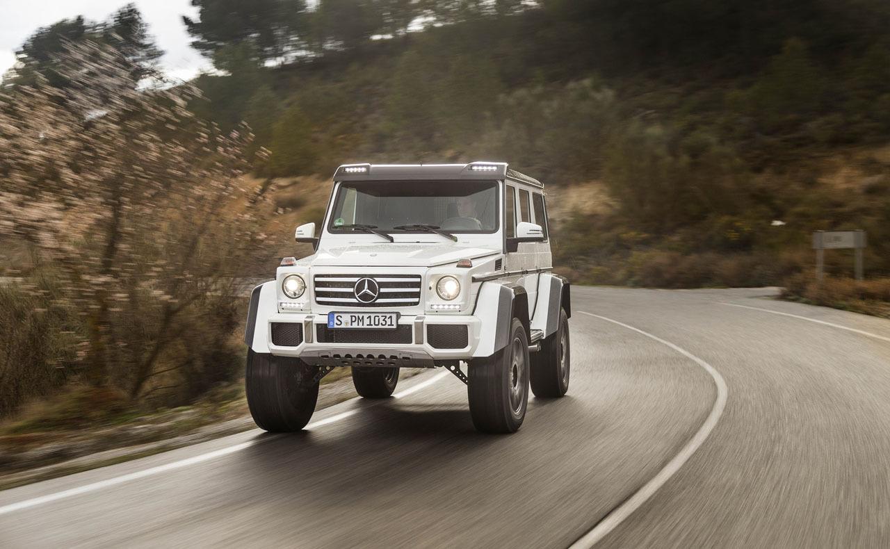 Foto de Mercedes-Benz G 500 4x4², toma de contacto (87/127)