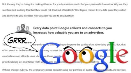 """Google responde a Microsoft enumerando """"mitos"""" y """"hechos"""""""