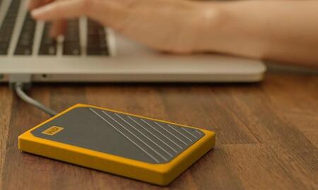 ¿Buscas disco duro SSD portable? El Western Digital My Passport Go de 2 TB está a precio mínimo en Amazon por 216 euros