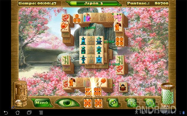 Mahjong Artifacts 2 tablero
