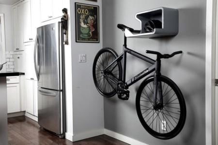 Coloca tu bicicleta de la manera más artística en la pared con Shelfie