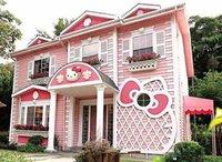 Puertas abiertas: una casa Hello Kitty