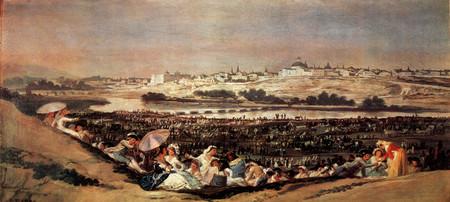 La pradera de San Isidro de Francisco de Goya