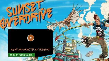 """Publicidad de Sunset Overdrive para PC fue un error"" Microsoft"