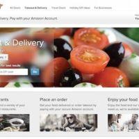 Amazon entra en el juego de la comida a domicilio