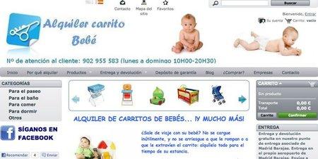 Alquiler de carritos y otros artículos para bebé, una práctica solución para viajes