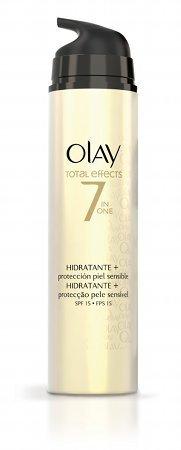 Olay amplía su línea Total Effects con una hidratante para las pieles sensibles