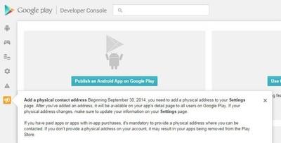 Se avecinan cambios en Google: dirección física obligatoria en Google Play y cierre definitivo de Web Search API