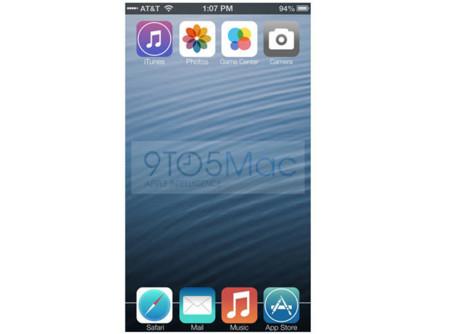 Este podría ser el aspecto de iOS 7