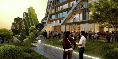 ¿Casas con forma de montaña? En Taiwan es posible