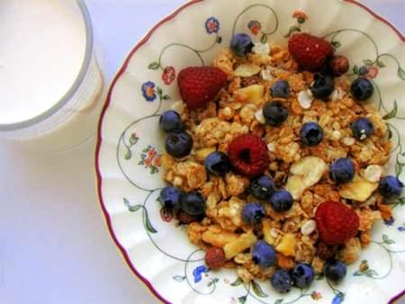 El muesli, la mejor opción para comenzar el día de forma sana
