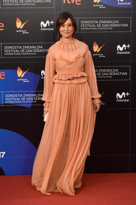 festival de cine de san sebastian alfombra roja Nathalie Poza