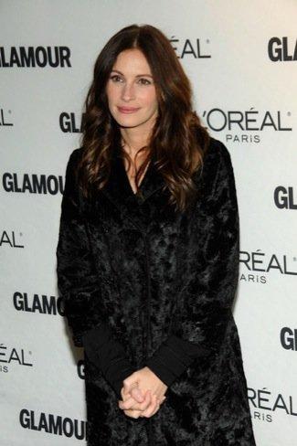 Premios Glamour de 2010: Julia Roberts, abrigo