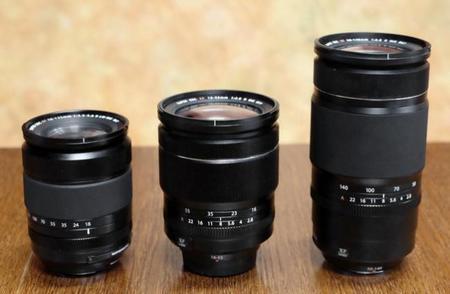 Objetivos Fujifilm XF