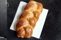 Receta de pan trenzado del Sabbat