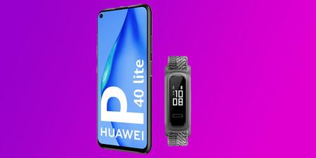 El pack Huawei P40 Lite con la pulsera de actividad Band 4e está rebajado en Amazon a 189 euros, su precio mínimo histórico