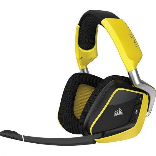 Corsair Void Pro Gaming 7.1 RGB Wireless Edición Especial Amarillos